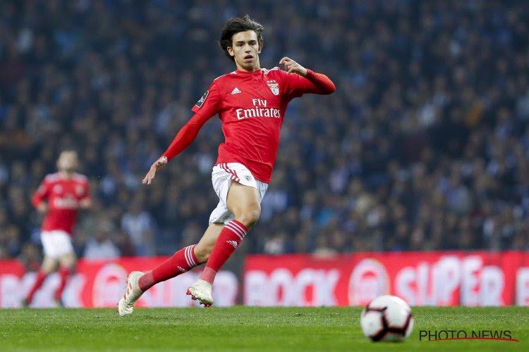 Benfica wil meewerken aan transfer Joao Felix maar het moet een aardige duit opleveren