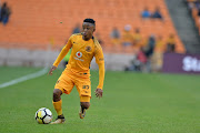 Hendrick Ekstein of Kaizer Chiefs during the Absa Premiership match between Kaizer Chiefs and Platinum Stars at FNB Stadium on April 15, 2018 in Johannesburg, South Africa.