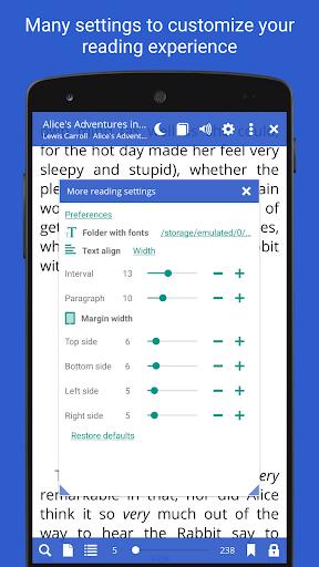 Screenshot for Librera PRO - Book reader and PDF (no Ads) in Hong Kong Play Store