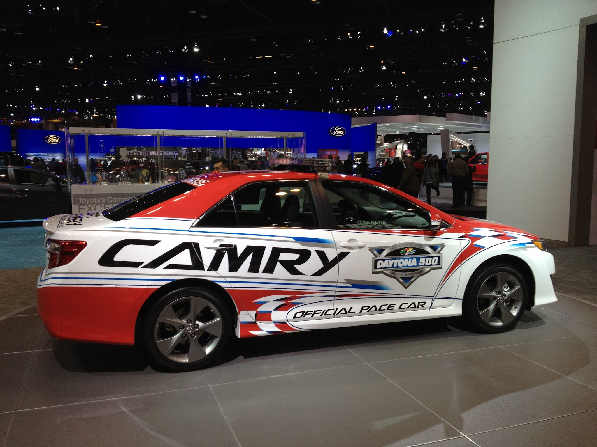 Photo: In just a few weeks this Camry pace car will be leading the way at the 2012 Daytona 500.
