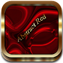 Abstract Red Go Launcher EX icon