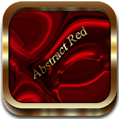 Abstract Red Go Launcher EX