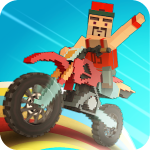 Moto Rider 3D: Blocky City 17 icon do Jogo