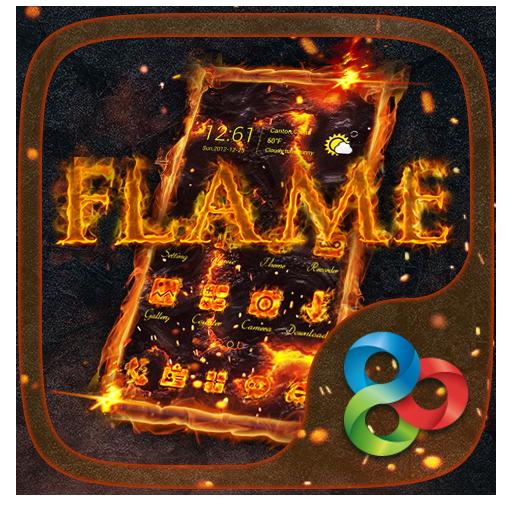 Flame GO Launcher Theme
