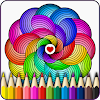 Mandalas coloring pages (+200 free templates) APK Icon