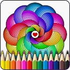 Mandalas coloring pages icon