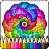 Mandalas coloring pages