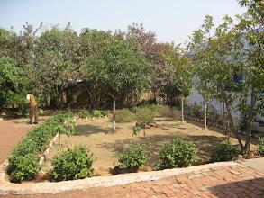 Photo: Tending the school's garden
