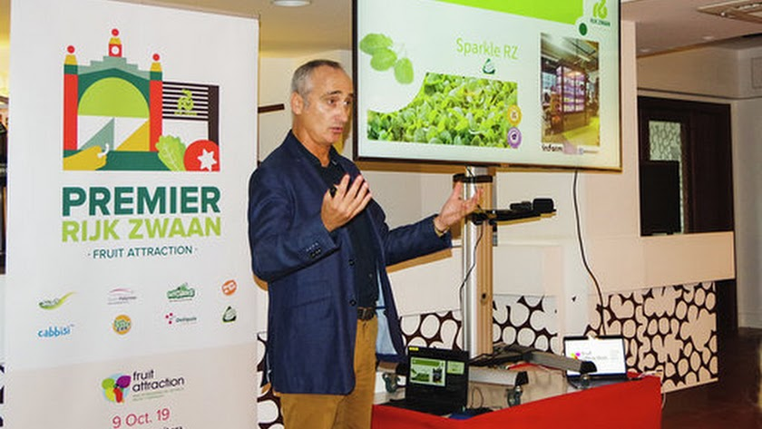 Alberto Cuadrado expuso tanto las tendencias actuales como los nuevos productos.