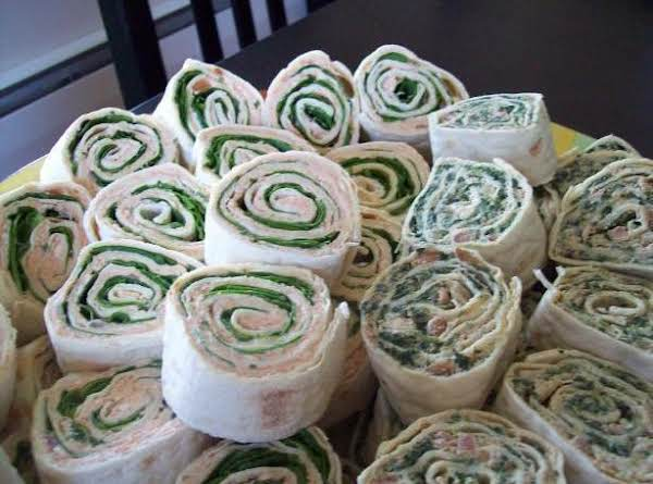 Spinach And Feta Pinwheels Recipe