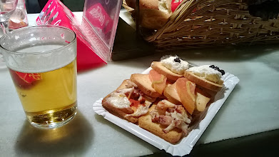 Photo: tappas and beer