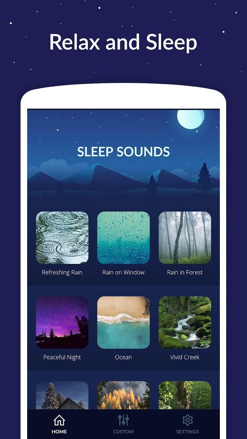 Sleep Sounds Screenshot 0