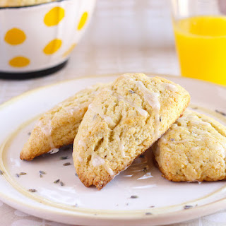 Lavender Scones for Mother's Day