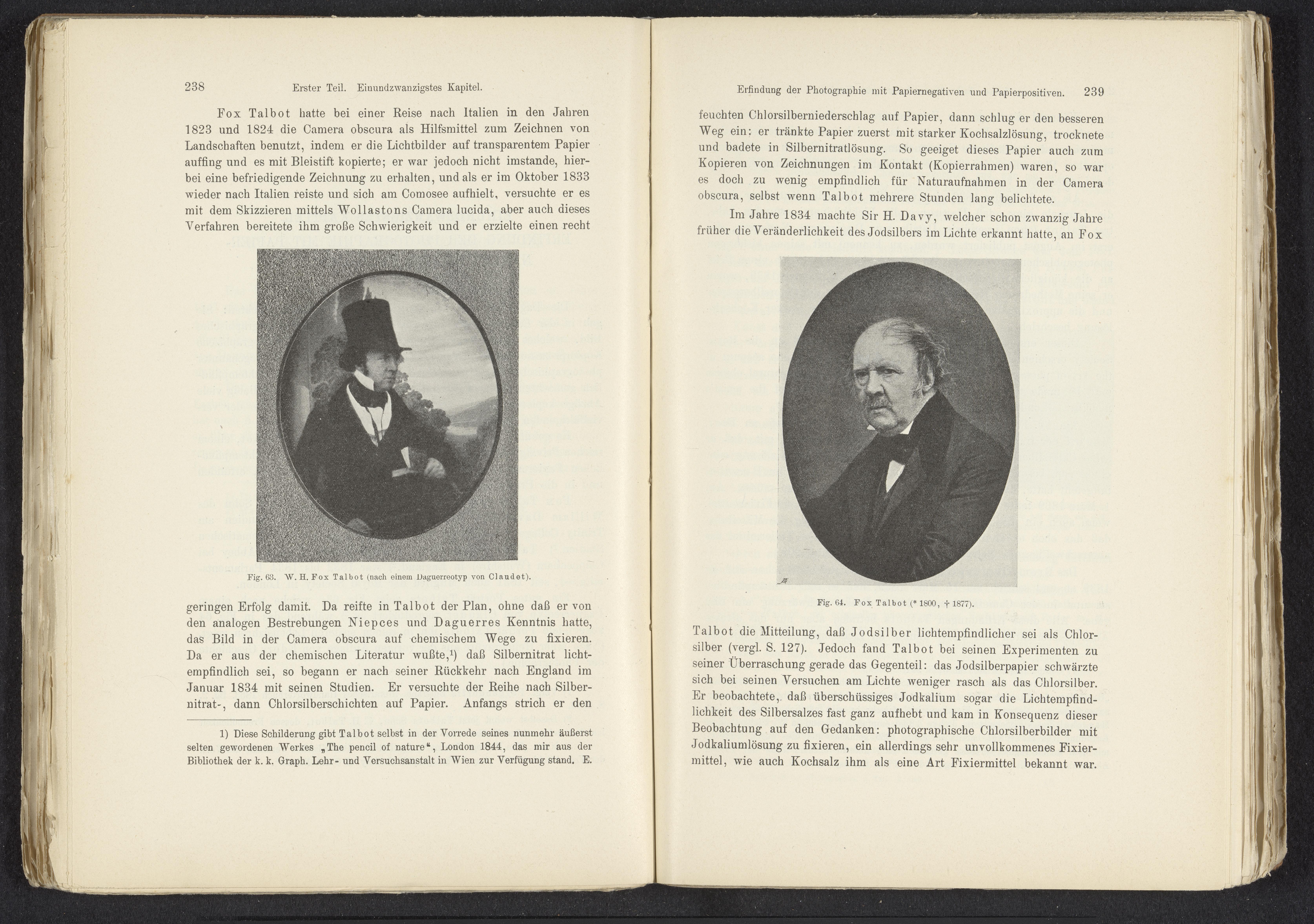 Portret van William Henry Fox Talbot