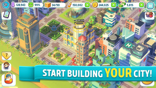 City Mania: Town Building Game 1.4.2a Screenshots 1