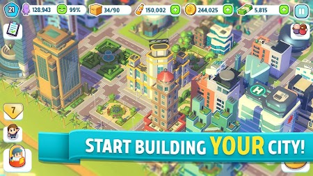 City Mania: Town Building Game APK screenshot thumbnail 1