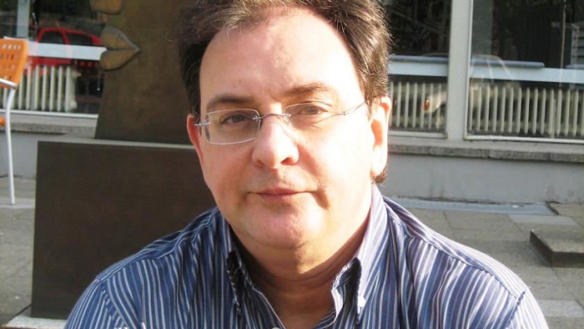 Valls es profesor de Literatura Española en la Autónoma de Barcelona (Foto: Gemma Pellicer).