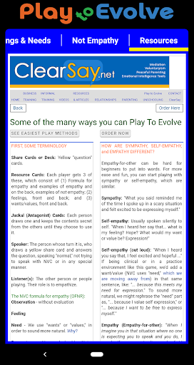 Screenshot for NVC Play to Evolve in United States Play Store