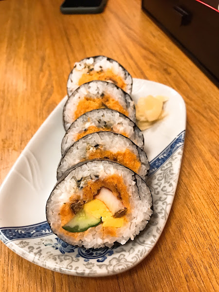 豐原值得一訪再訪的日式餐廳🍴 壽司、生魚片都好吃 味噌魚湯也是料多多