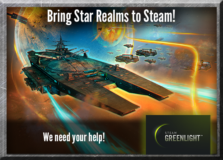 Help Bring Star Realms to Steam!