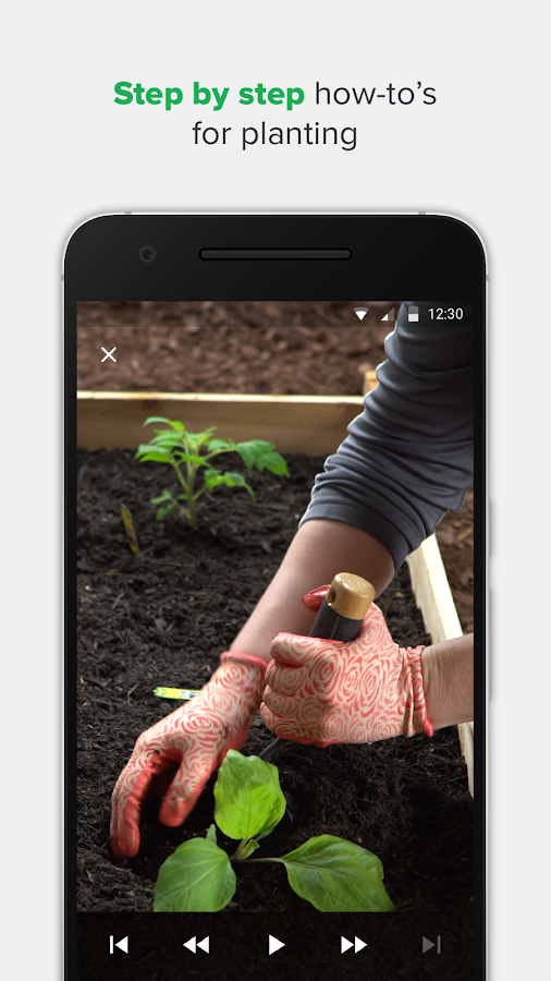 GRO. Real-Time Gardening- screenshot