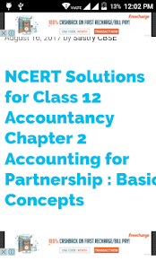 CBSE ACCOUNTANCY CLASS 12 - náhled