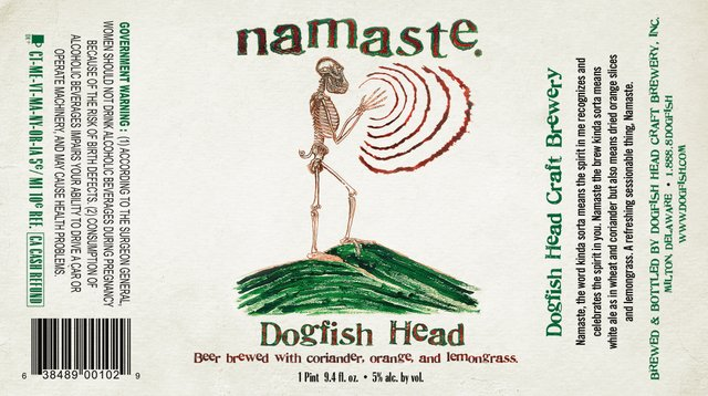 Logo of Dogfish Head Namaste