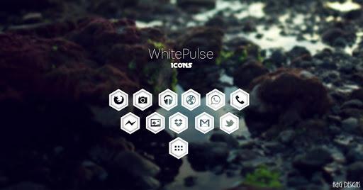 WhitePulse Icons (ADW/NOVA/GO) 1.1 screenshots 5