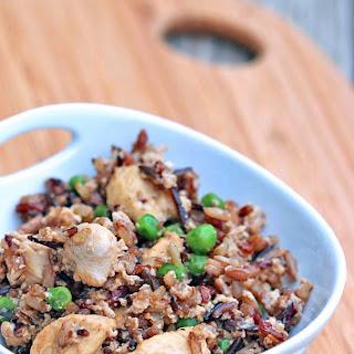 Healthier Chicken Fried Rice