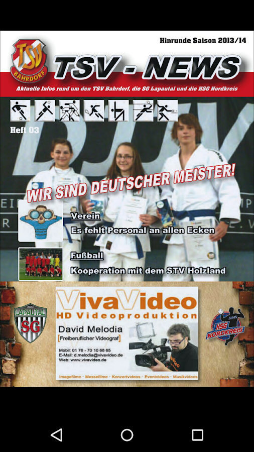Turn- und Sportverein Bahrdorf- screenshot