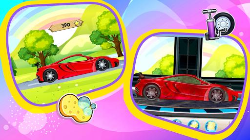 Car Games: Clean car wash game for fun & education screenshot 2
