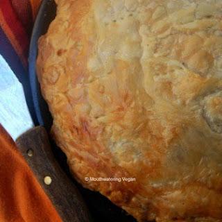 Cream Of Mushroom & Zucchini Pie