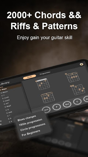 Real Guitar - Music game & Free tabs and chords!  screenshots 4