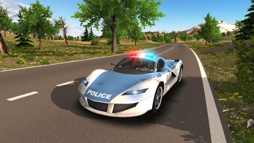 Police Car Driving Offroad 2 screenshots 3