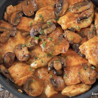 One Pan Chicken Marsala