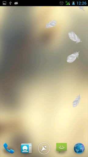 Feathers Live Wallpaper