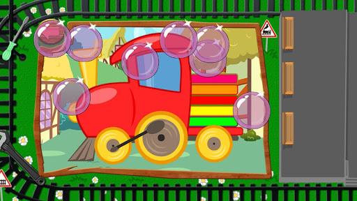 玩免費解謎APP|下載赤ちゃんのパズル:列車 app不用錢|硬是要APP