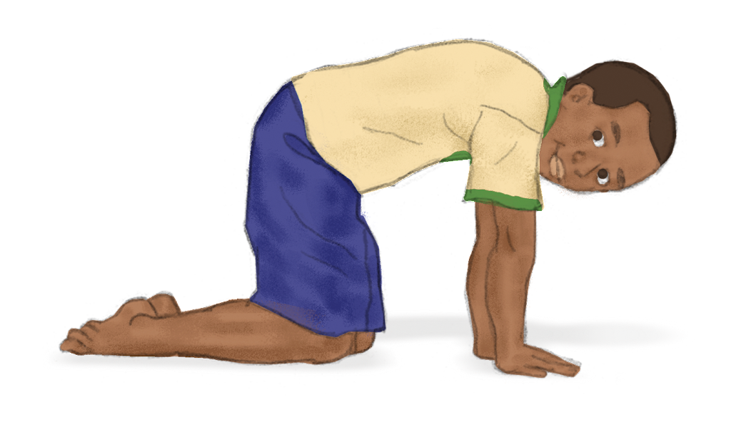 Cat Pose for Kids - Kids Yoga Stories