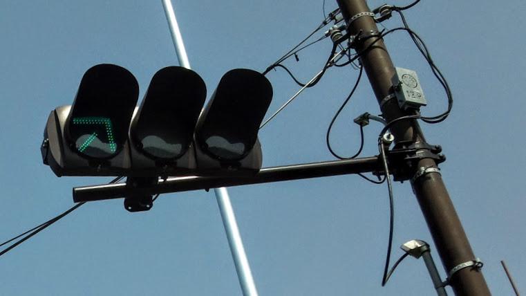 変則信号機 組み込み矢印