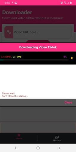 Downloader TikTok No Watermark - DoTik screenshot 6