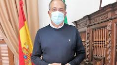 El teniente de Alcaldía de Vélez-Rubio, Vicente García Egea.