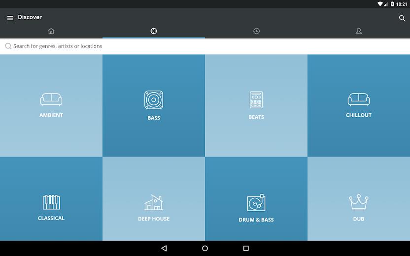 Screenshot 7 for Mixcloud's Android app'
