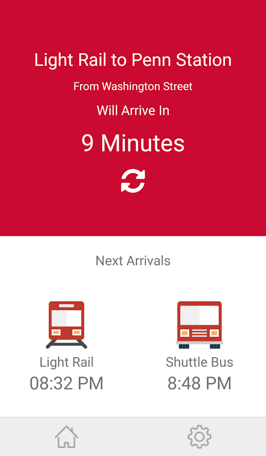 Rutgers Newark: Bus or Rail- screenshot