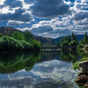 The River Sakarya by Şahin Kaplan - Landscapes Waterscapes