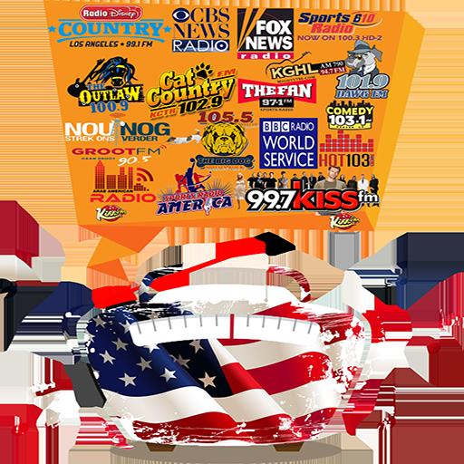 Radio USA FM Music & News & Sport