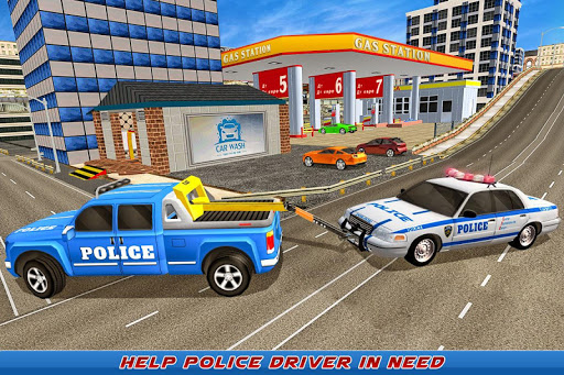 Gas Station Police Car Services: Gas Station Games 1.0 screenshots 2