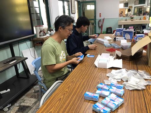 南科實中國小部防疫工作相片