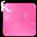 keeworld Theme: Girls Pink icon