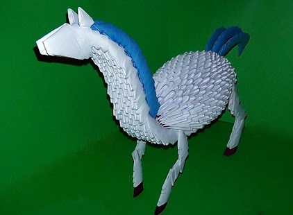 3D Animal Origami Instructions