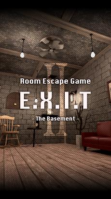 脱出ゲーム E.X.I.T Ⅱ - The Basement -のおすすめ画像1